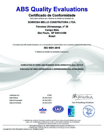 SOBROSA_CONSTRUTORA_CERTIFICADO_ABS_QUALITY_EVALUATIONS